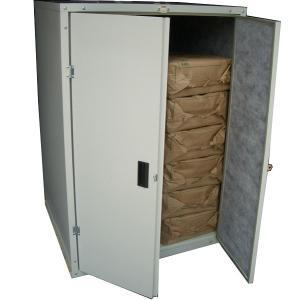 『欠品中 次回入荷未定』メタルテック 簡単組立式米保管庫 蔵 MRS-24 12表用 アイボリー|kiro