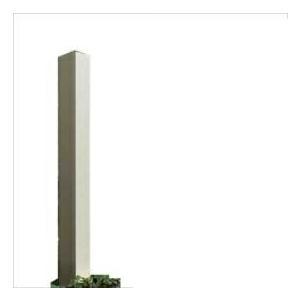 YKKAP ルシアスアクセントポール1型 T100 アルミカラー 『機能門柱 機能ポール』|kiro
