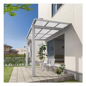 三協アルミ 独立式テラス レボリューD 1.0間×4尺 600タイプ/関東間/標準柱(H24)/単体 ポリカ屋根|kiro