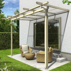 YKK ap サザンテラス パーゴラタイプ 関東間 600N/m2 2間×6尺 熱線遮断ポリカ屋根 kiro