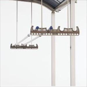 四国化成 アレグリアテラス オプション 竿掛けセット(2ヶ1組) 吊下げ式 04-TOP-SC   『物干し 屋外』 ステンカラー|kiro