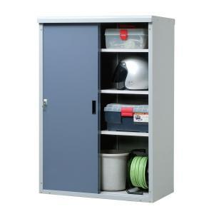 【タカヤマ物置】長物収納に便利なハーフ棚タイプ