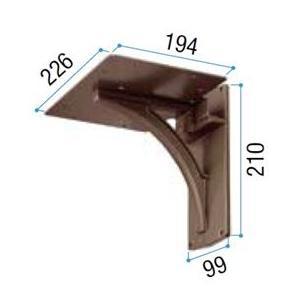 リクシル TOEX 縦型ポスト用 アメリカンタイプW-1型用壁付けポスト台座 Bタイプ 『リクシル』 『郵便ポスト』|kiro