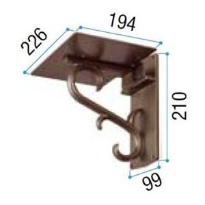 リクシル TOEX 縦型ポスト用 アメリカン用壁付けポスト台座 Aタイプ 『リクシル』 『郵便ポスト』|kiro