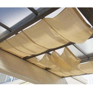 タカショー ポーチテラス オプションアイテム シンプルシェード 1.5間×9尺 サンドストーン|kiro