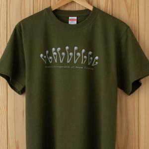 こごめTシャツ カーキ|kiru-sansai