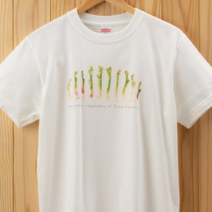 うどTシャツ バニラホワイト XLサイズ kiru-sansai