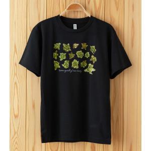 ふきのとうドライTシャツ ブラック|kiru-sansai