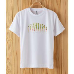 うどドライTシャツ ホワイト|kiru-sansai