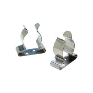 パドルクリップ スプリングクランプ 2個入り ステンレス 25〜36mm径用