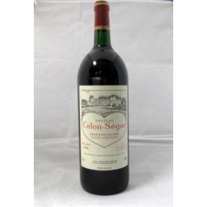 赤ワイン シャトー・カロン・セギュール  1996 1500ml フランス ボルドー マグナム瓶 ポ...