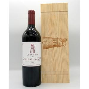 赤ワイン シャトー・ラトゥール 2010 フランス ボルドー 1級 贈り物 パーカーポイント100点...