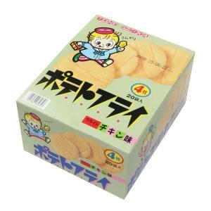 駄菓子 ポテトフライ フライドチキン(税別¥28×20個)-C2X3食{ 幼稚園 夏祭り 景品 子供...