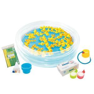 アヒル お風呂 おもちゃ Kishi's eセット あひるちゃんすくいセット -F2{ 幼稚園 夏祭り 景品 子供会 縁日 }|kishi-gum