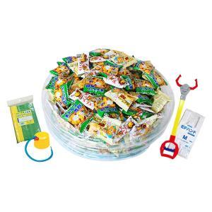 Kishi's eセット 駄菓子ロボットキャッチセット(¥14300×1セット)-SET食 { 幼稚園 夏祭り 景品 子供会 縁日 }|kishi-gum