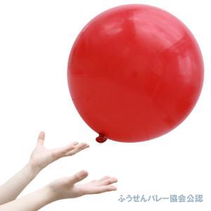 40cmふうせんバレー赤・5枚(1パック)-BP|kishi-gum