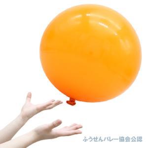 40cmふうせんバレーオレンジ・5枚(1パック)-BP kishi-gum
