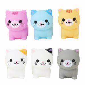 商品サイズ:3×4.5×4.5 可愛い猫型の水に浮く人形です。本体を指で押しますと、ピッと音が鳴りま...