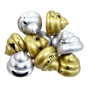 ぷかぷかうんちくん金銀バージョン(税別¥35×50個){ 人形すくい すくい人形 ツムツム 祭り 景...