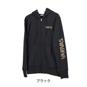 モーリス(MORRIS) VARIVAS フルジップパーカ VAT-33 ブラック S kishinami