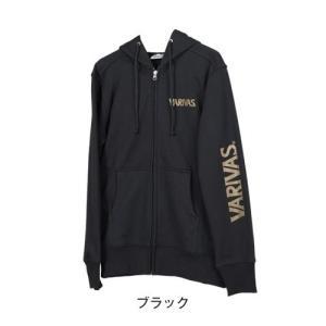 モーリス(MORRIS) VARIVAS フルジップパーカ VAT-33 ブラック M kishinami