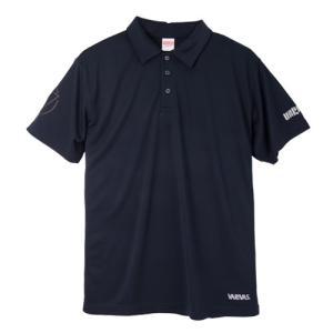 モーリス(MORRIS) VARIVAS ドライシルキーポロシャツ VAT-36 ネイビー M|kishinami