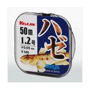 サンヨーナイロン(Sanyo Nylon) VALCAN ハゼ 50m ブラック 0.6号|kishinami