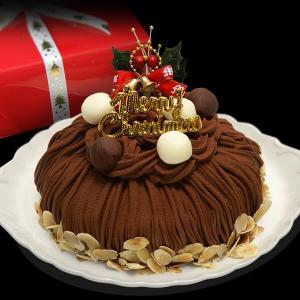 クリスマスケーキ(生チョコモンブラン)