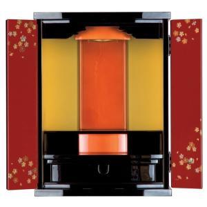 仏壇 塗りモダン すずめ15×20号|kishineen