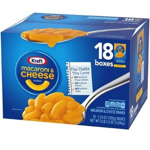 Kraft クラフト マカロニ&チーズ 18個入(205.5gx18個) チーズソースミックス付きマカロニ kishionline