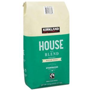 カークランドシグネチャー スターバックス ハウスブレンド コーヒー (豆) 1.13kg ミディアムロースト kishionline