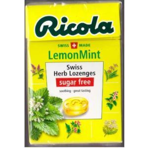 リコラ レモンミント ハーブキャンディー シュガーフリー 45gx5個 kishionline