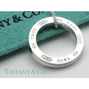 TIFFANY&CO. (ティファニー)1837 サークルペンダント (L)  並行輸入品 スターリングシルバー|kishiwakithe-net