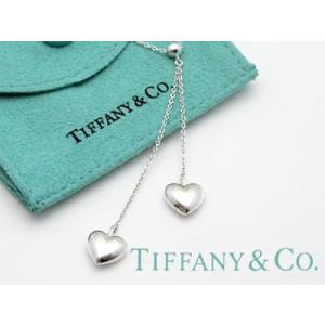 TIFFANY&CO. (ティファニー)ダブルドロップハートペンダント 並行輸入品 スターリングシルバー|kishiwakithe-net