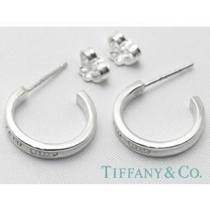 TIFFANY&CO. (ティファニー) 1837フープピアス (S) 並行輸入品  スターリングシルバー|kishiwakithe-net