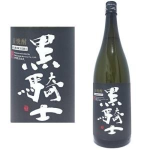 黒騎士 25度 1800ml 麦焼酎 西吉田酒造 福岡県 くろきし