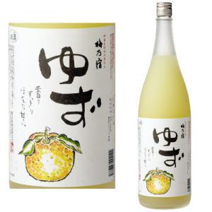 梅乃宿 ゆず酒 8度 1800ml ゆず 梅乃宿酒造 奈良県...