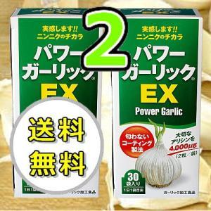 パワーガーリック EX ニンニクサプリ 2個|kisshou