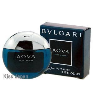 ブルガリ BVLGARI ミニ ブルガリ アクア プールオム 5ml EDT BT あすつく 香水 kissjapan