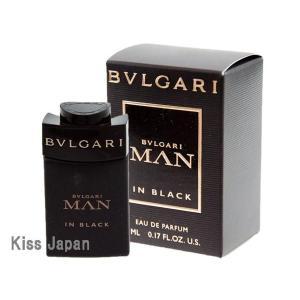 ブルガリ BVLGARI ミニ ブルガリ マン イン ブラック 5ml EDP BT あすつく 香水 kissjapan