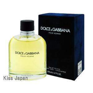 ドルチェ&ガッパーナ DOLCE & GABBANA D&G プールオム 200ml EDT SP あすつく 香水|kissjapan