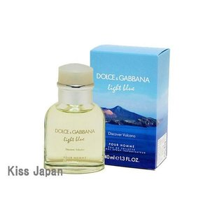 ドルチェ&ガッパーナ DOLCE & GABBANA D&G ライトブルー ディスカバー ヴルカーノ 40ml EDT SP あすつく 香水|kissjapan
