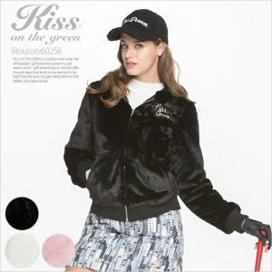 フード付きエコファージップアップブルゾン/ゴルフ ウェア レディース 女性用|kissonthegreen
