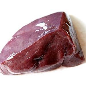 北海道産の新鮮な牛生レバー(真空パック冷凍・加熱用)85g〜115g(お一人様用)×5袋 kissui 02
