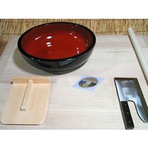 蕎麦打ち道具、生舟セット|kissui