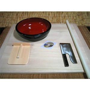 L型 蕎麦打ち道具、生舟セット|kissui