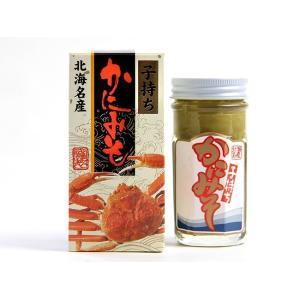 子持ちかにみそ80g(北海名産)自然がくれた風味豊かな贈り物。カニみそはお酒の肴、色々なお料理の隠し味にもご使用になれます。蟹味噌 ご飯のお供 kissui 02