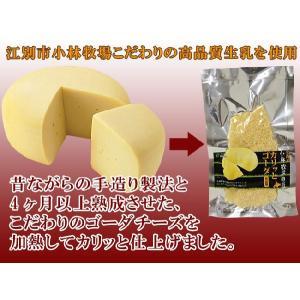 カリッとゴーダ35g ゴーダチーズをおせんべいに!(ちーずのおやつ)無添加 小林牧場物語の生乳使用 (乾酪加工品)ナチュラルチーズ kissui 04