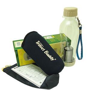 茶漉し付きエコボトル(Travel Buddy/トラベルバディ)PC-501 保温カバーセット|kissyoumon