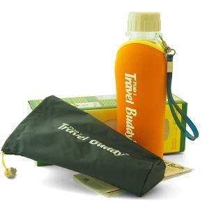 茶漉し付きエコボトル(Travel Buddy/トラベルバディ)PC-501 保温カバーセットオレンジ|kissyoumon